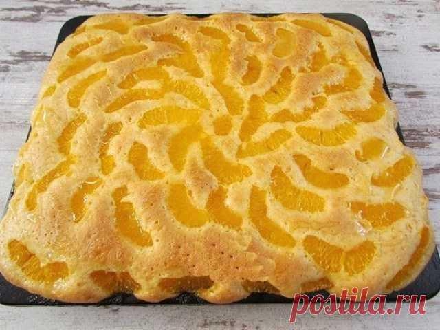 Нежный мандариновый пирог Ингредиенты: Для теста: ● 250 г пшеничной муки; ● 250 г сливочного...