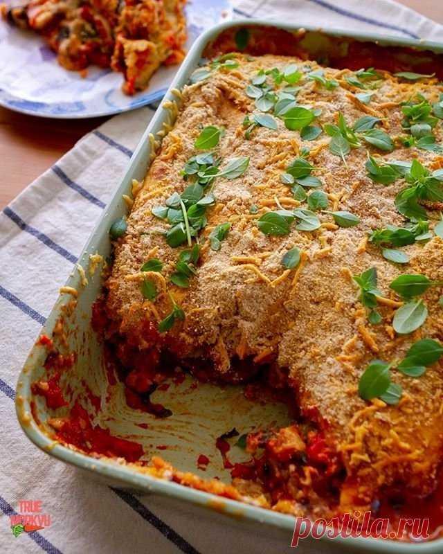 Сырно-баклажанная запеканка — Sloosh – кулинарные рецепты