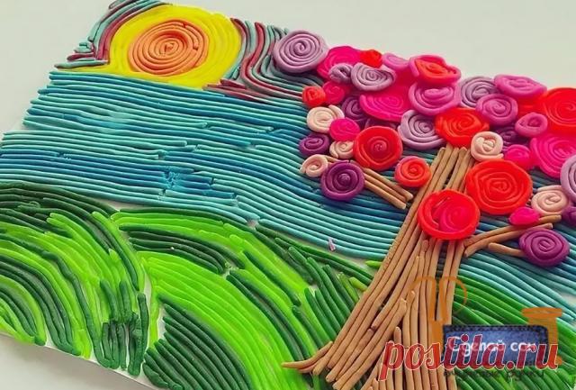 Пластилин + шприц. Оригинальная идея для творчества с детьми.