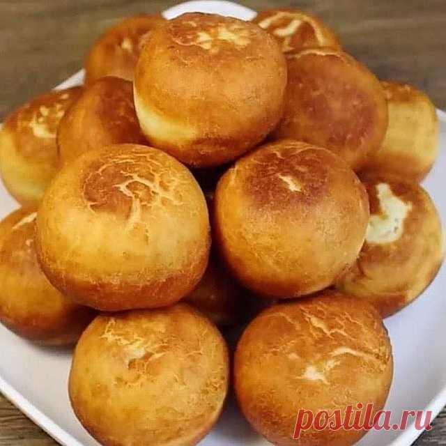 Всего 4 ингредиента! Самый простой рецепт пончиков! — СОВЕТ !!!