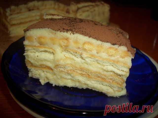 Торт (без выпечки) «а-ля Тирамису»