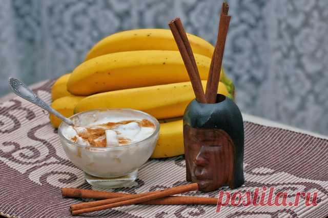 Закипяти бананы с корицей и выпей перед сном. Вот что этот напиток может сделать с организмом!