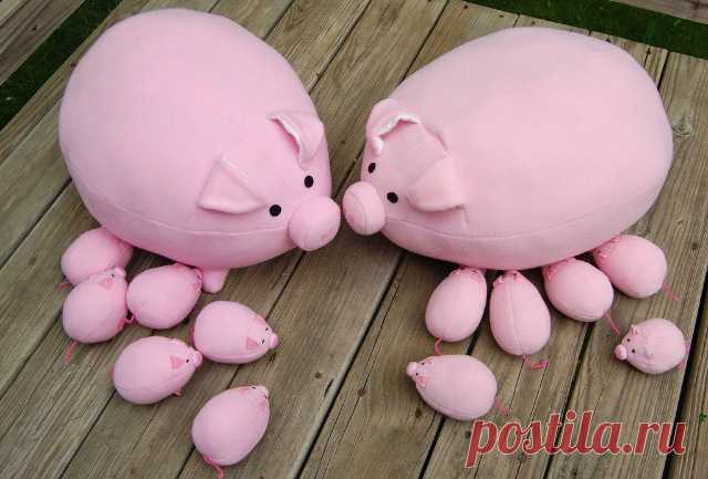 Свинки выкройки игрушек - Форум