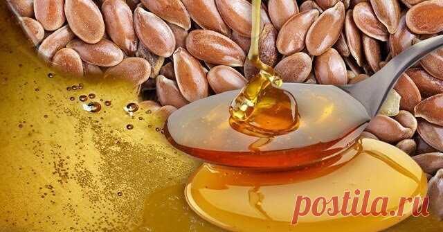 Почему необходимо употреблять мёд с семенами льна Польза и питательные свойства льняных семян доказаны давно, а в сочетании с медом они производят замечательных детокс-эффект, очищая кишечник, тонизируя сосуды и повышая защитные свойства организма.