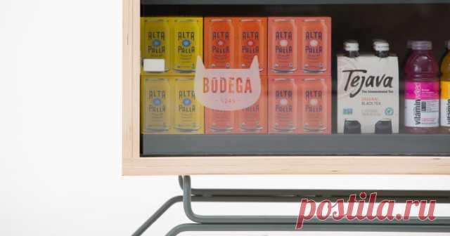 Bodega — автоматические киоски с продуктами
