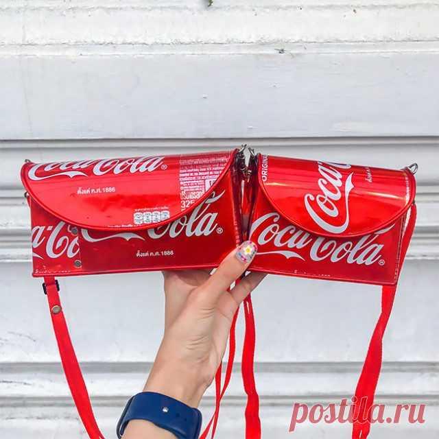 Стильные сумочки из жестяных банок