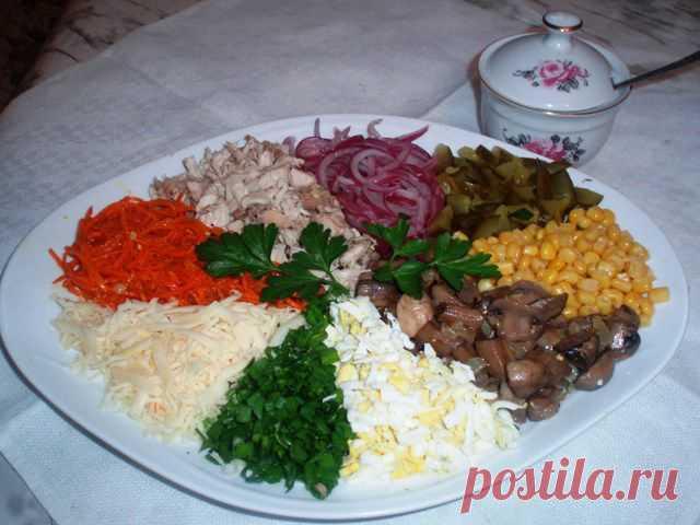 Салат «Ералаш» | Домашняя еда