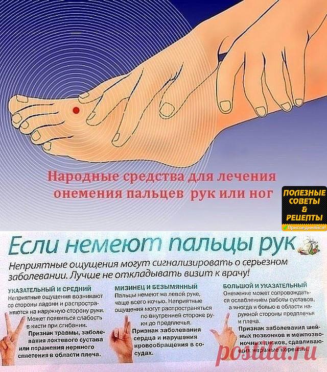 Затекает леваярука и нога причины