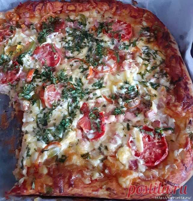 Пицца «Фреска» по-домашнему. Рецепт