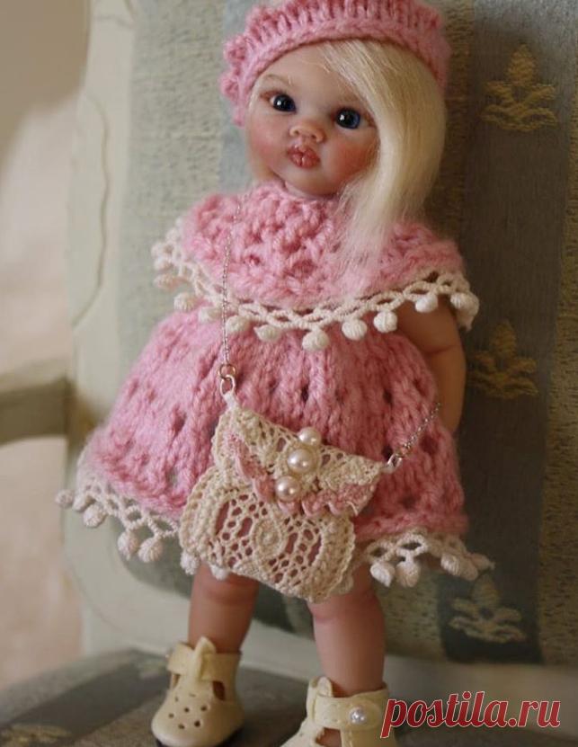 """Авторская коллекционная кукла """"Снежанна""""@yivartdolls"""