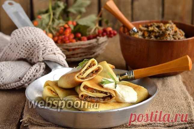 Вторая подборка на Масленицу: 15 рецептов блинчиков с начинкой и вкуснейших тортов из блинов!