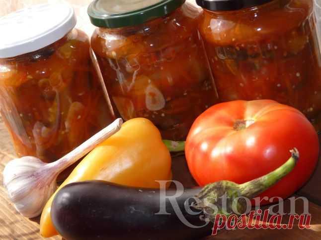Баклажановый салат «Овощное безумие»