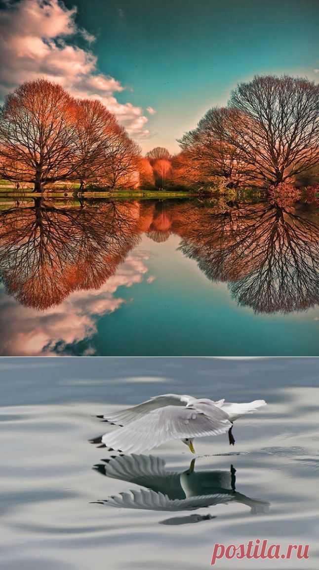 (+1) тема - Зеркальные пейзажи   Непутевые заметки