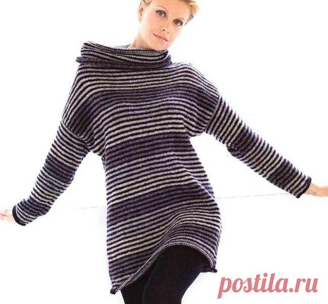 Вяжем теплые платья, платье-свитер, платье-тунику спицами — варианты моделей | Ирина СНежная & Вязание | Яндекс Дзен