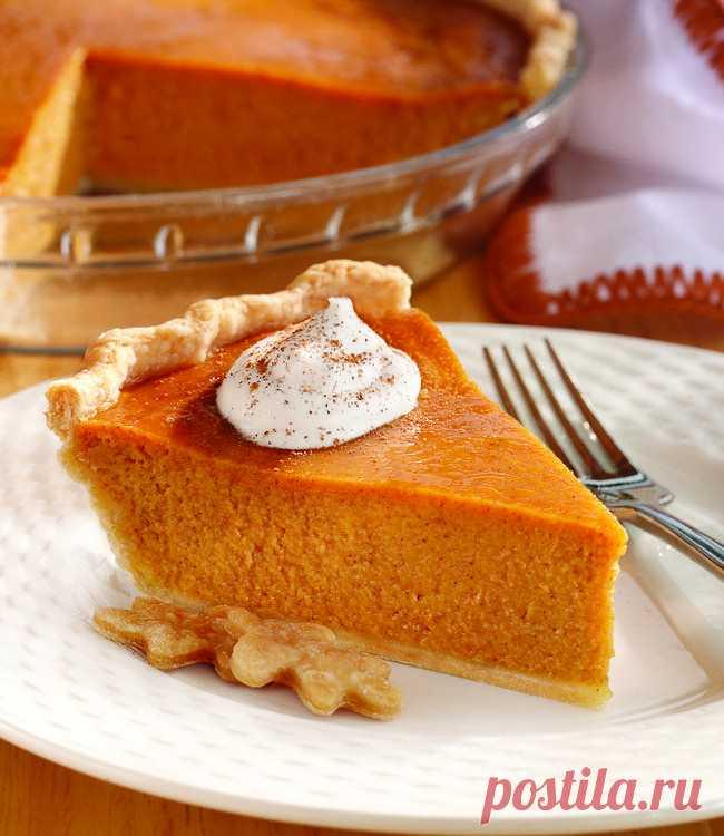 Американский тыквенный пирог — Sloosh – кулинарные рецепты