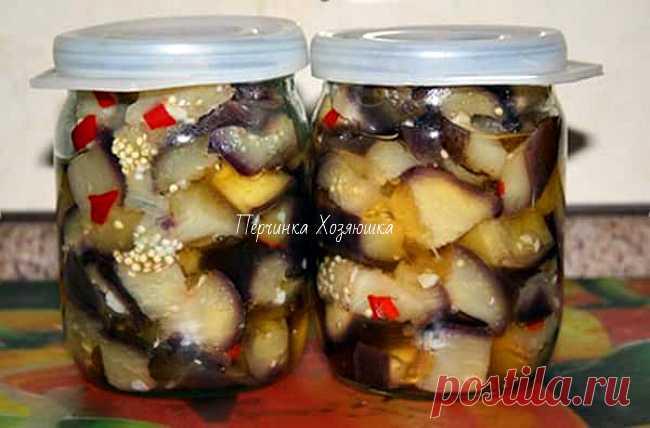 Пикантные маринованные баклажаны – как настоящие грибы с перцем! - Ok'ейно.plus