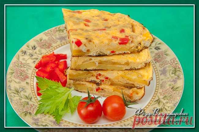 Тортилья — испанский омлет