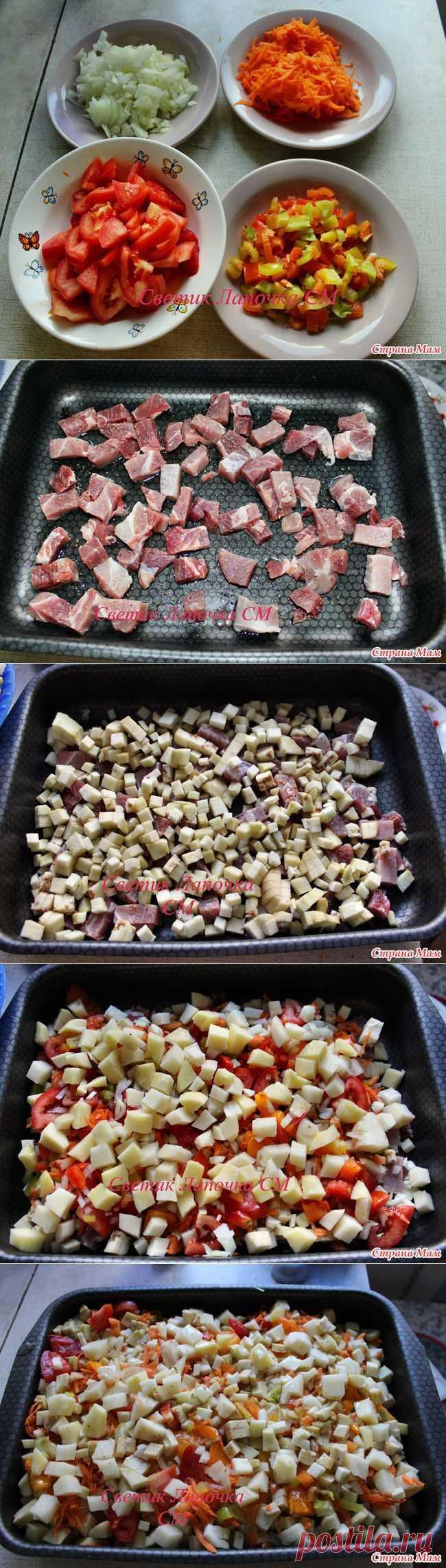 Баклажаны с мясом в духовке: Домашнее хозяйство - Страна Мам