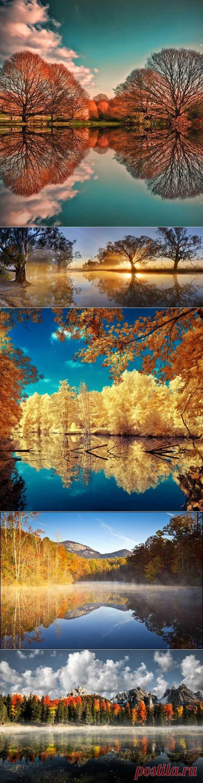 Зеркальные пейзажи