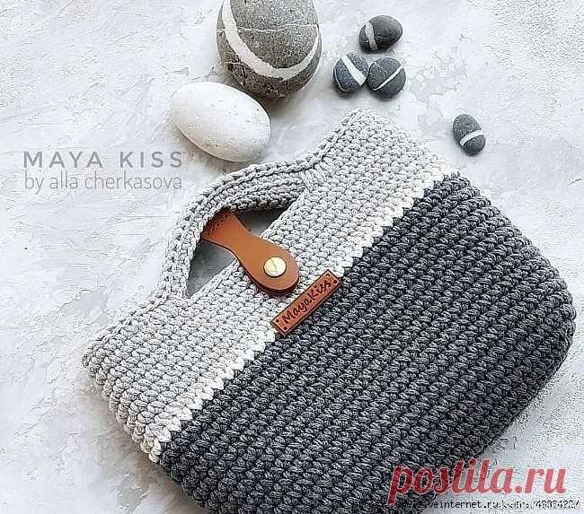 Сумочка TOKYO от maya_kiss | Вязаные крючком аксессуары