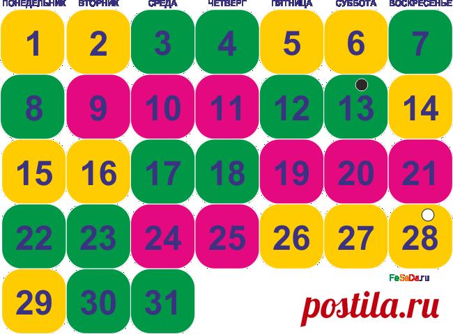 Народные приметы и лунный календарь на март 2021 г.