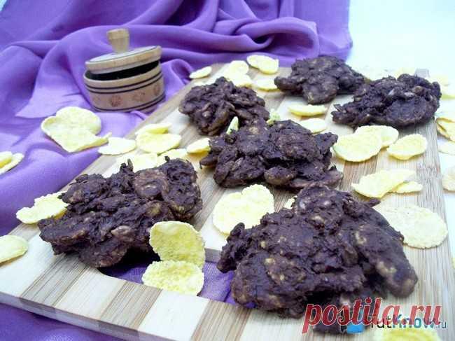 La receta: las Galletas de las palomitas de maíz