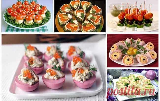 вкусные рецепты с фото на праздничный стол