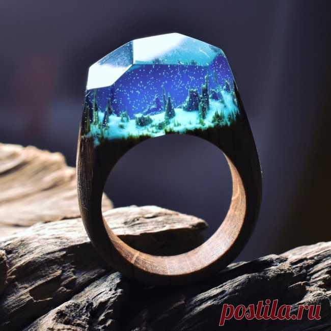 Вот так выглядят, пожалуй, самые залипательные кольца на свете