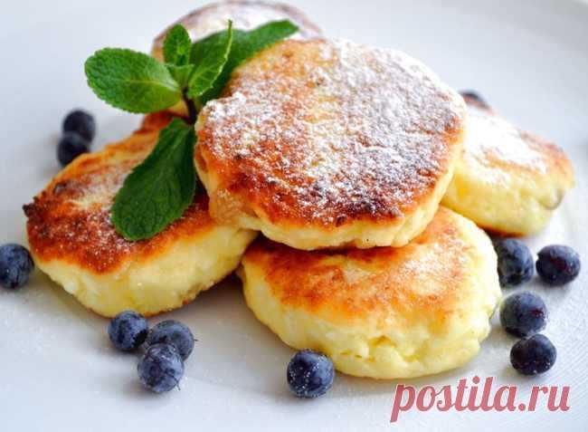 Сырники из творога: рецепт классический на сковороде, пышные