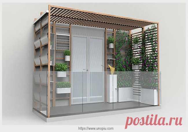 Модульная система расширяет функции балкона   Идеи домашнего мастера