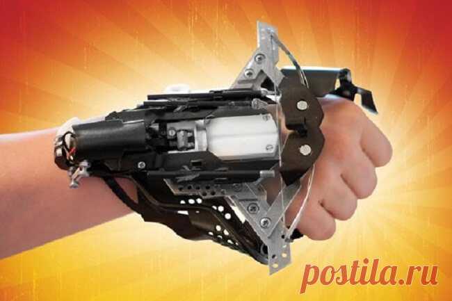 Как сделать механический ручной арбалет с лазерным прицелом? - технологические забавы и развлечения, новые тренды на hi-news.ru
