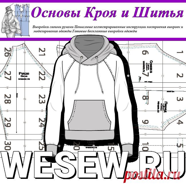 Готовая выкройка мужской толстовки больших размеров Ready-made pattern of mens hoodies in large sizes  Выкройка мужской толстовки, а вернее анорака, в натуральную величину, подойдет для пошива удобной и модной одежды мужчинам с обхватом груди 104-108-112-116 см.