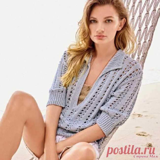 Пуловер Поло Трикотаж позволяет создавать современные образы, в которых вы ощутите полный релакс.