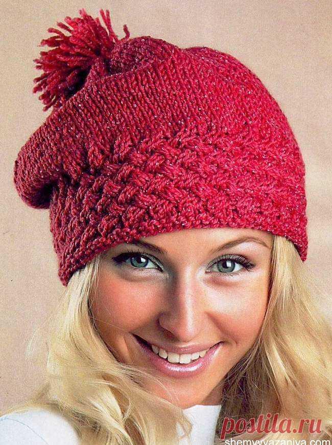 шапки схемы спицы вязание спицами и крючком для детей и взрослых
