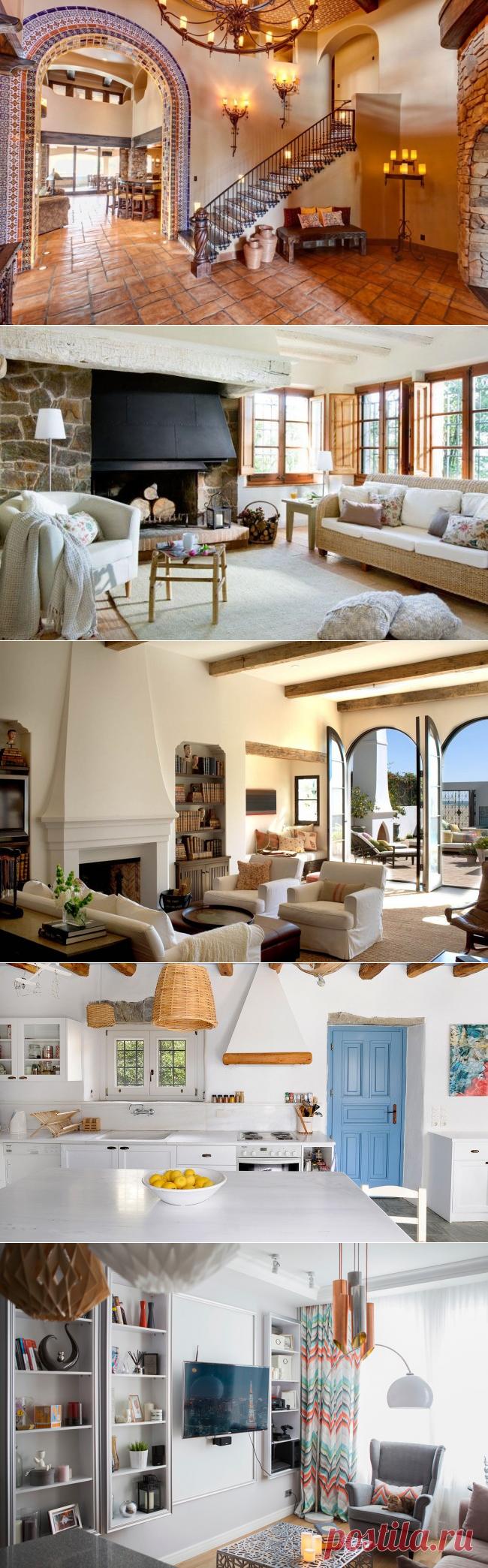 Оформление жилья в средиземноморском стиле