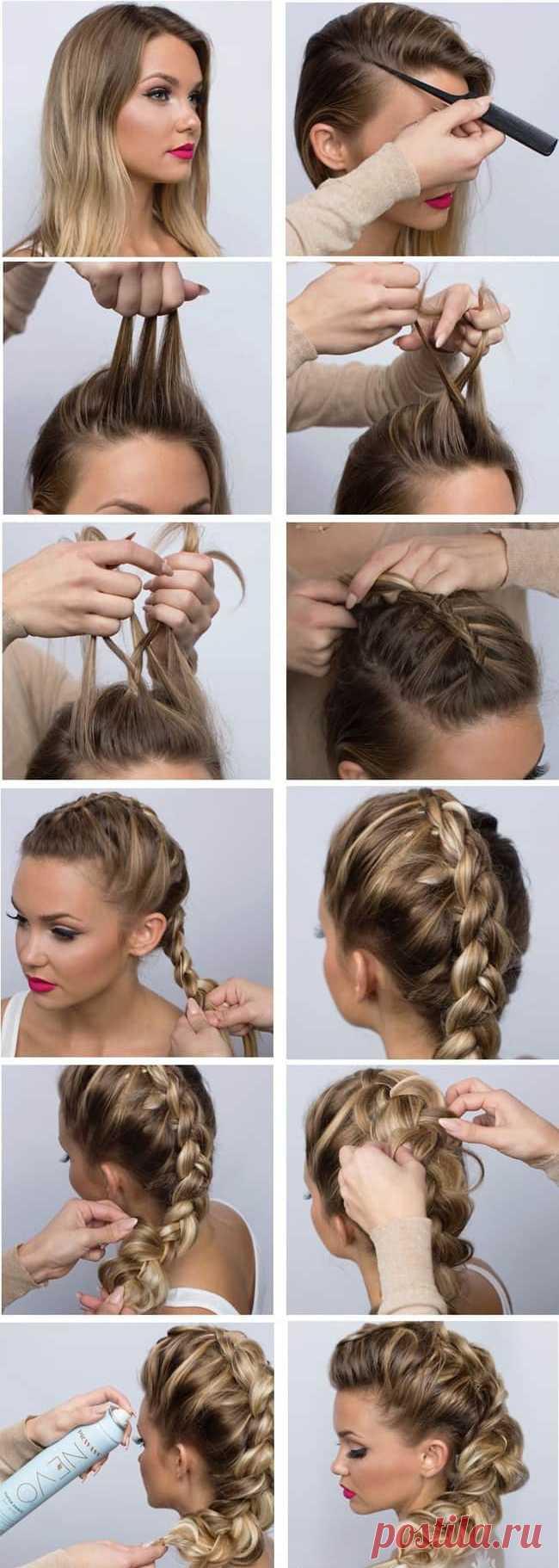 этом исключаются плетение кос фото пошагово на средние волосы новые лоты разделе