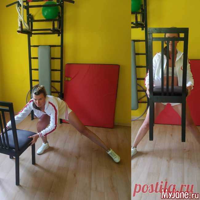 11 упражнений со стулом, которые заменят тренировку в тренажерном зале - фитнес, упражнения, тренировка, домашние тренировки