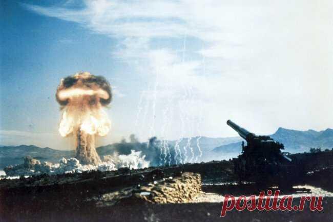 Единственный выстрел из атомной пушки показали на видео | WPRISTAV.RU | Яндекс Дзен