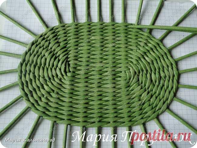 Плетение из газет дом мастеров