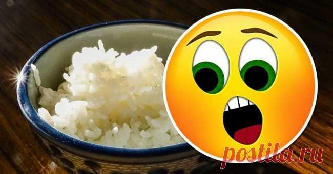 Оказывается, обычный рис необходимо варить особым способом