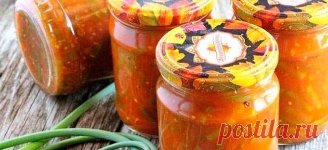 Las agujas marinadas de ajo – las recetas de la preparación para el invierno