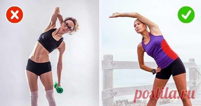 упражнения которые помогут похудеть