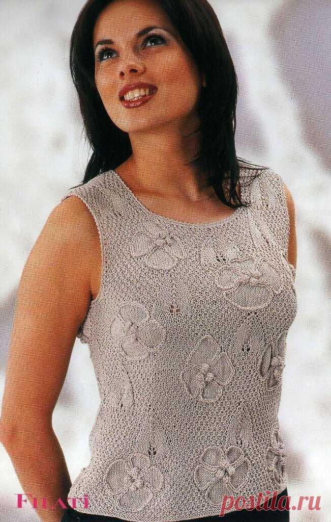 Это ваши модели!!! Подборка летних вязаных топов. | Asha. Вязание и дизайн.🌶 | Яндекс Дзен
