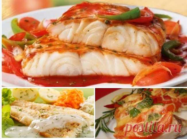 5 рецептов для любителей рыбы. Подойдет и на обед и на ужин!