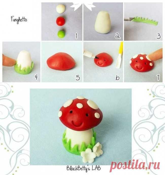 Лепим из пластилина фрукты, ягоды и овощи