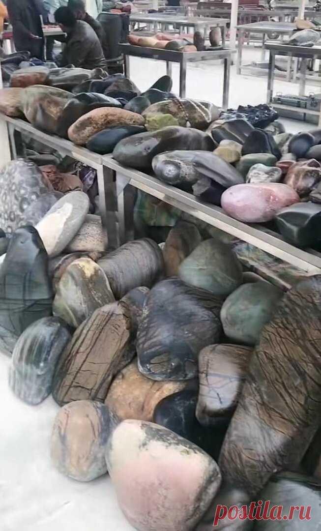 Необычные рынки камней в Китае: что там можно купить и почем | Соло-путешествия | Яндекс Дзен