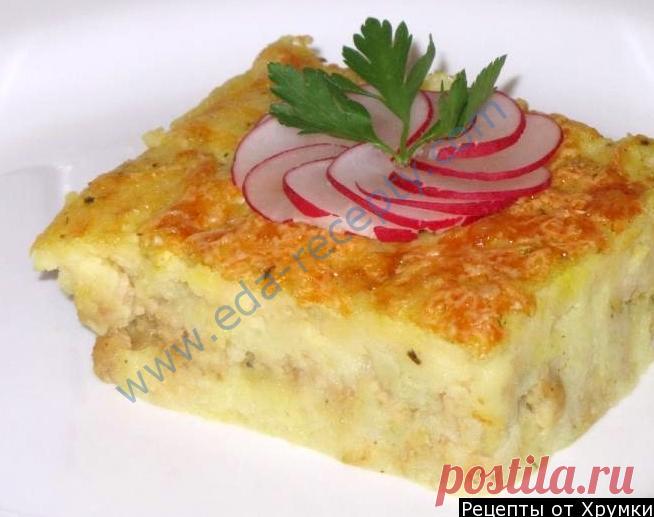 Potato baked pudding