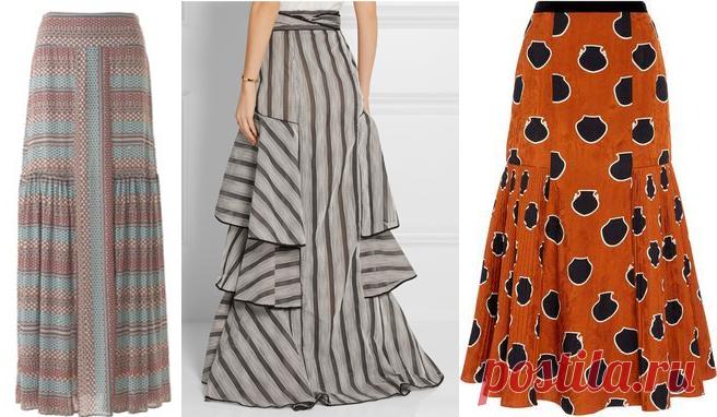 Ах какие юбки! Моделируем и шьем широкую длинную юбку в стиле бохо | МНЕ ИНТЕРЕСНО | Яндекс Дзен