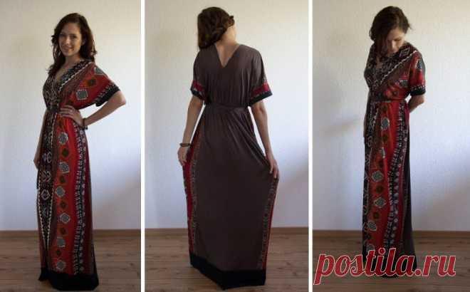 Платье в греческом стиле, которое можно сшить за час