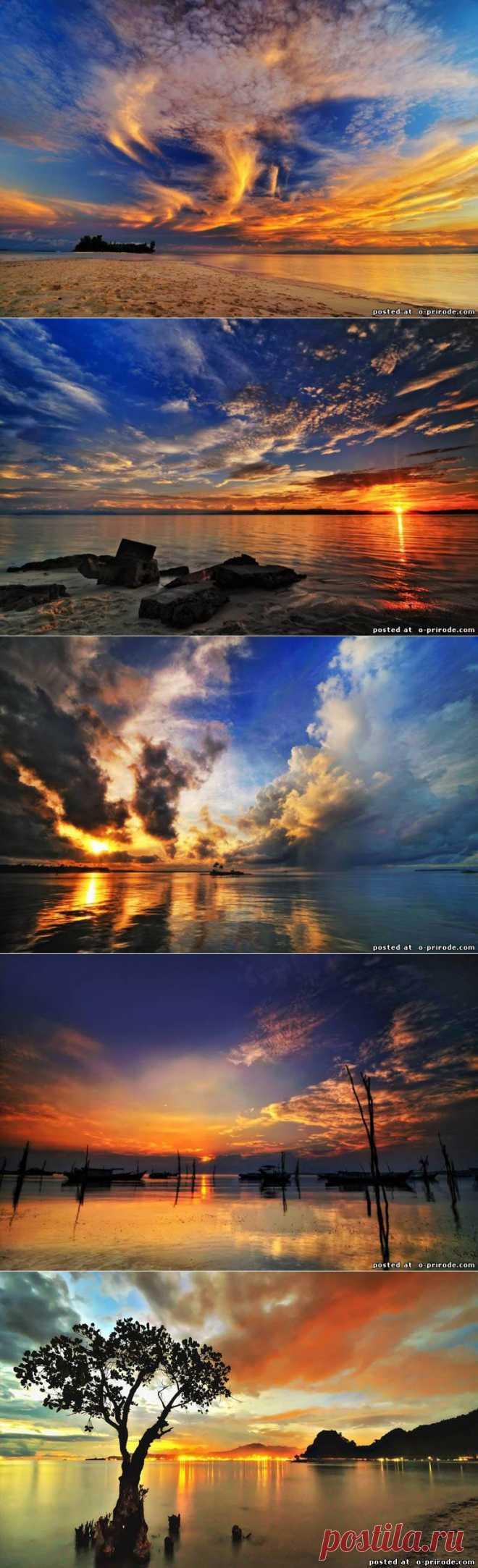 Красивые закаты от Arnov Setyanto - Природное явление - Фото мир природы